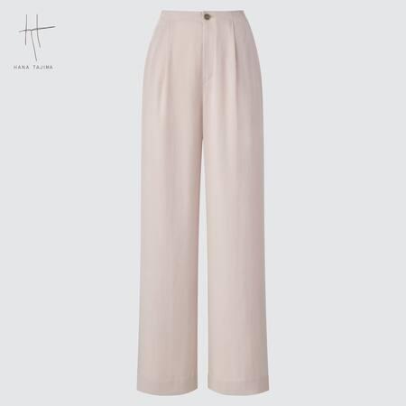 Women Hana Tajima Wide Leg Straight Fit Trousers