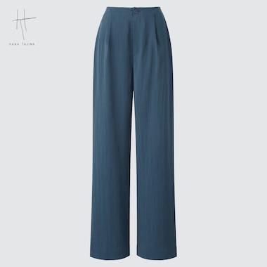 WOMEN WIDE STRAIGHT PANTS (HANA TAJIMA)