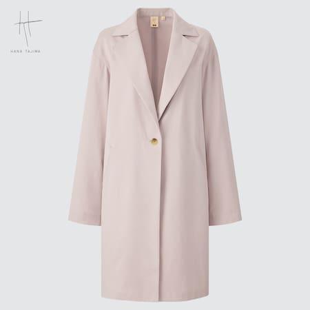 Women Hana Tajima Twill Cocoon Coat
