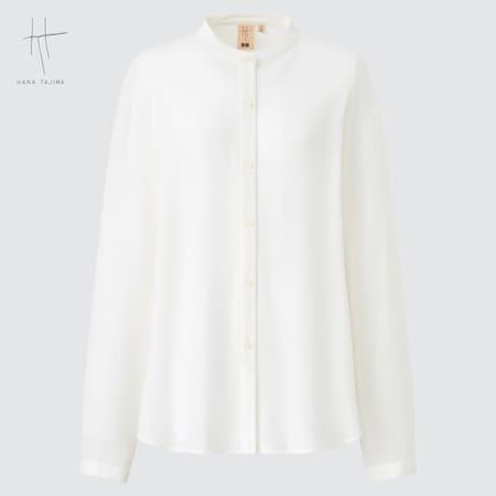 Camicia Hana Tajima Rayon Georgette Colletto A Listino Donna