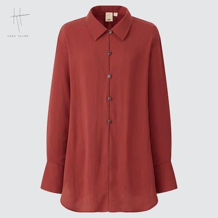 Camicia Hana Tajima Relax Taglio Lungo Donna