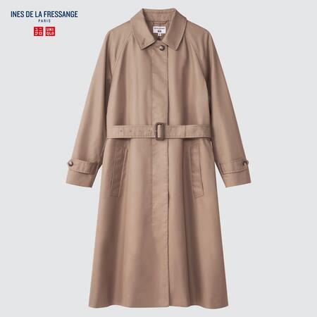 Women Ines de la Fressange Single Breasted Coat