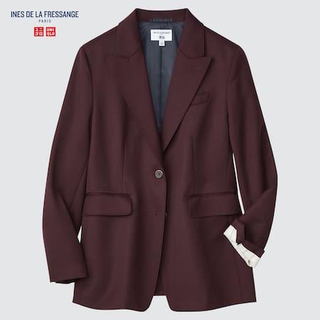 Damen Ines de la Fressange Wollmix Jacke