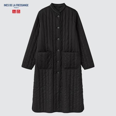 Women Ines de la Fressange Quilted Coat
