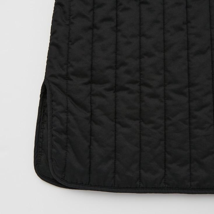 Women Quilted Coat (Ines De La Fressange), Beige, Large