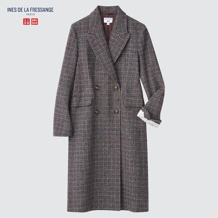 Women Ines de la Fressange Tweed Coat