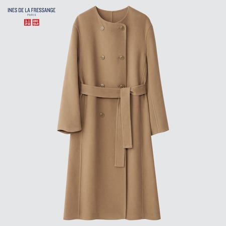Women Ines de la Fressange Wool Blend Coat