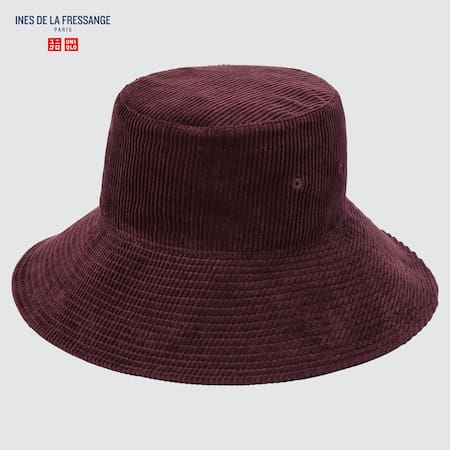 Ines de la Fressange Corduroy Bucket Hat