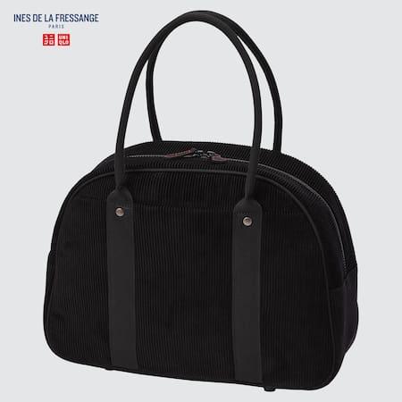 Damen Ines de la Fressange Cord Boston Bag