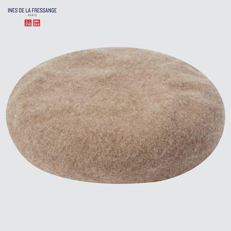 Ines de la Fressange Wool Beret Hat
