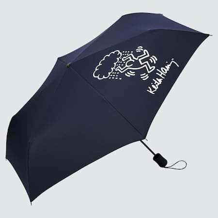 Keith Haring UT Bedruckter kompakter Regenschirm