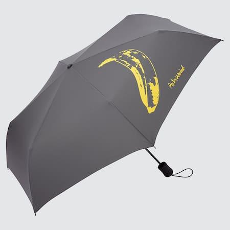 Andy Warhol UT Bedruckter kompakter Regenschirm