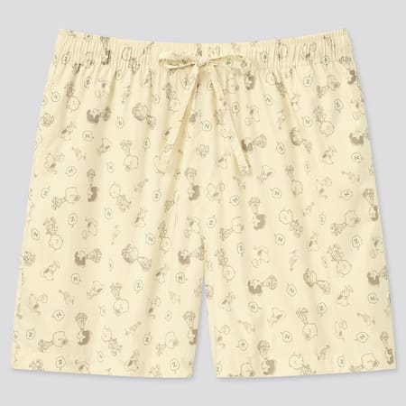 Women Peanuts Cotton Relaco Shorts