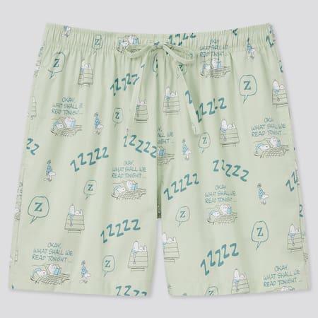 Damen Peanuts UT Bedruckte Baumwoll RELACO Shorts