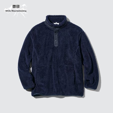 Pull Oversize Polaire White Mountaineering Homme