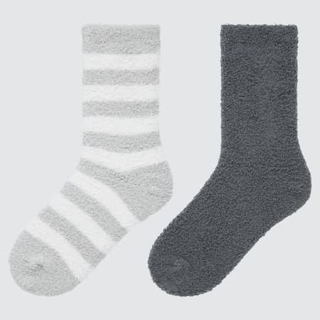 Kids Soft Fluffy Socks (Two Pairs)