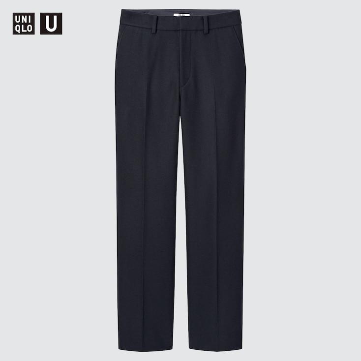 80s Jeans, Pants, Leggings | 90s Jeans UNIQLO Womens U Wool-Blend Tailored Pants Navy size 14 $69.90 AT vintagedancer.com