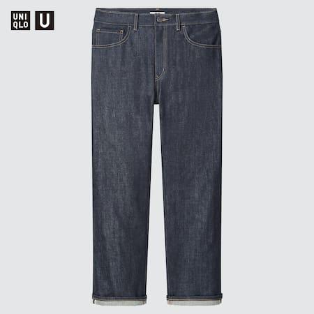 Herren Uniqlo U Selvedge Jeans (Regular Fit)