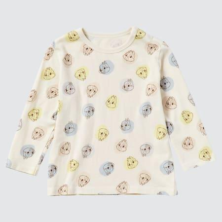 T-Shirt Stampa UT Disney Furry Friends Maniche Lunghe Neonato Bambino