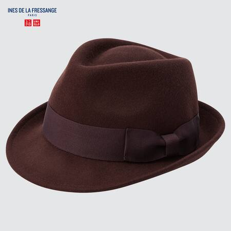 Ines de la Fressange Soft Wool Fedora Hat