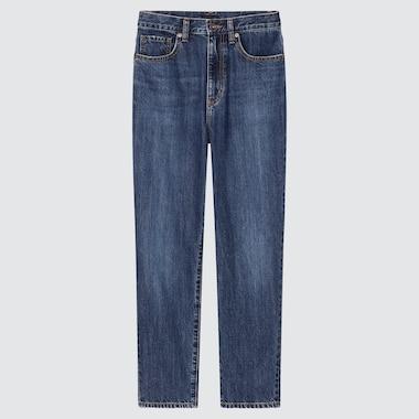 WOMEN PEG TOP HIGH-RISE JEANS