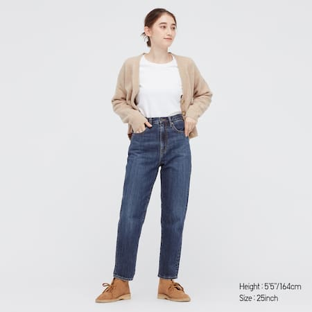 Women Peg Top High Rise Ankle Length Jeans