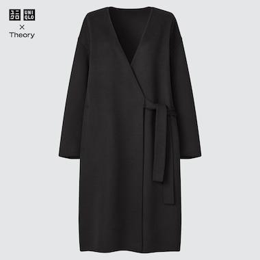 WOMEN WOOL BLEND COAT (THEORY)