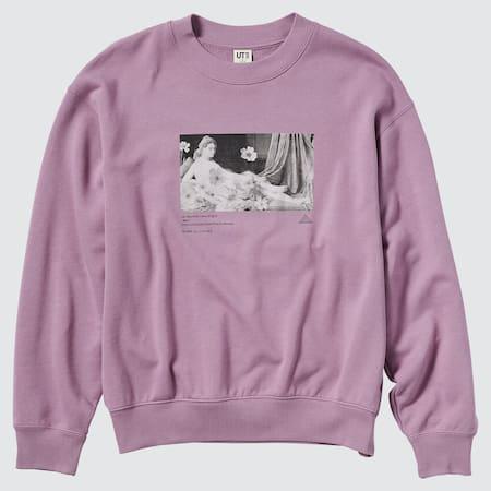 Women Louvre Museum UT Graphic Sweatshirt