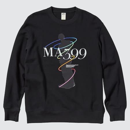 Men Louvre Museum x Peter Saville UT Graphic Sweatshirt