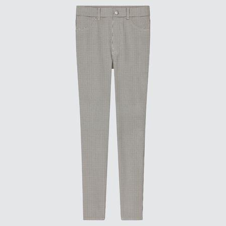 Women Ultra Stretch High Rise Printed Leggings Trousers (Long)