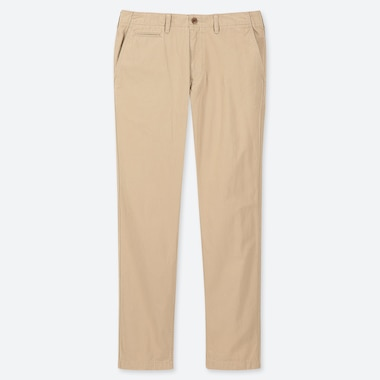 MEN REGULAR FIT VINTAGE CHINO TROUSERS