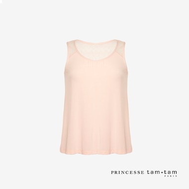 WOMEN PRINCESSE TAM.TAM TANK TOP DOUCEUR (NEW FLORA)