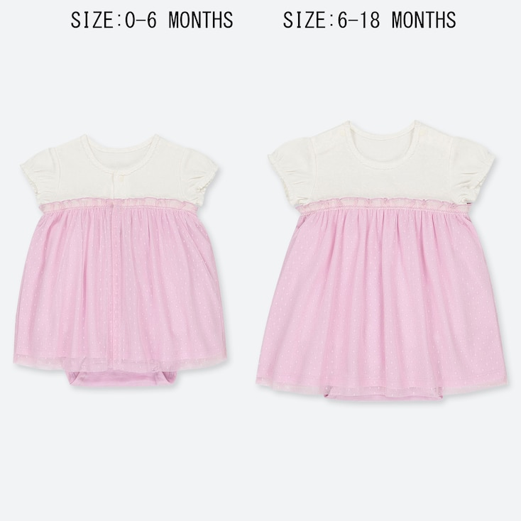 BABIES NEWBORN TULLE ALL IN ONE OUTFIT