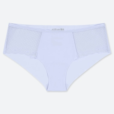 WOMEN AIRISM ULTRA SEAMLESS LACE HIPHUGGER BRIEFS