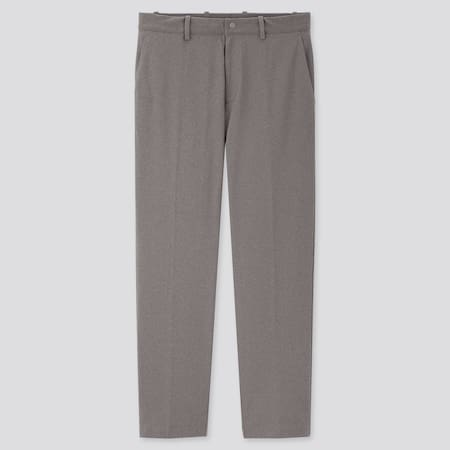 Men Smart DRY-EX Ultra Stretch Ankle Length Trousers