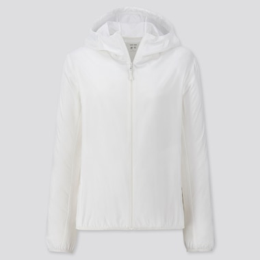 Women UV Protection Hooded Pocketable Parka