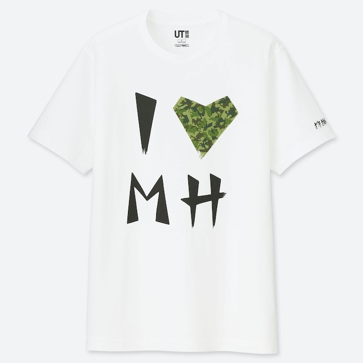 T-SHIRT STAMPA UT THE GAME BY MONSTER HUNTER UOMO