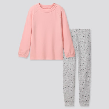 GIRLS ULTRA STRETCH SWEAT LOUNGE SET