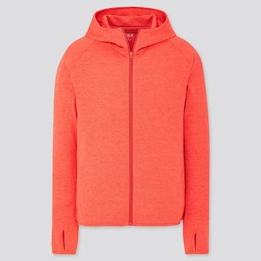 MEN DRY-EX UV PROTECTION ZIPPED HOODIE