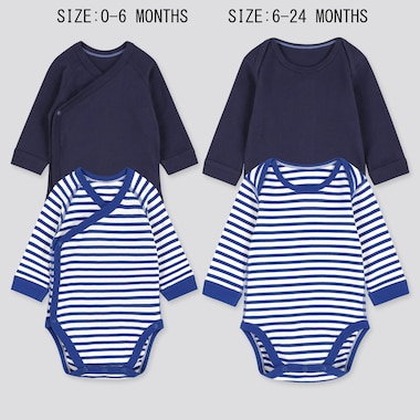 Baby langärmliger Body (2er-Set)