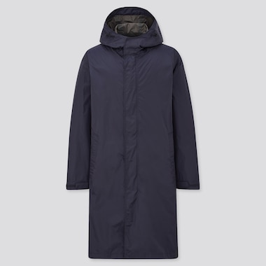 Men BLOCKTECH Lightweight Hooded Coat