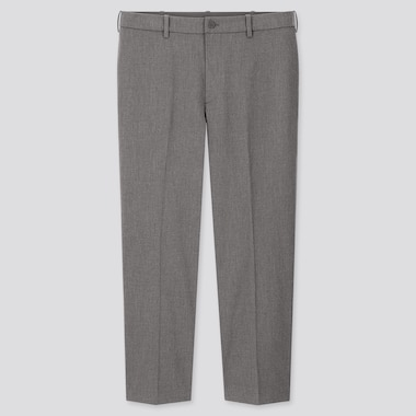 Men Smart Ankle Length Trousers (Long)