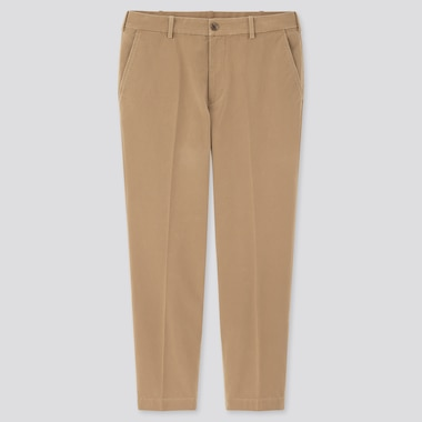 Men Smart Cotton Ankle Length Trousers (Long)
