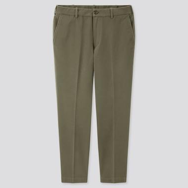 Men Smart Cotton Ankle Length Trousers (Long)