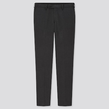 Men Smart Slim Fit Trousers