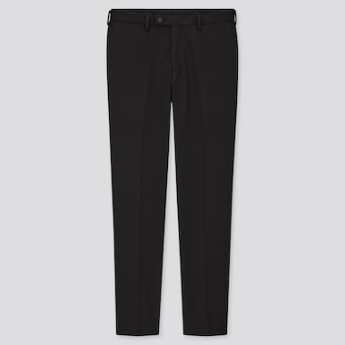 Men Smart Slim Fit Trousers