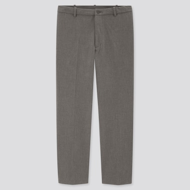 Men Smart Comfort Ankle Length Trousers