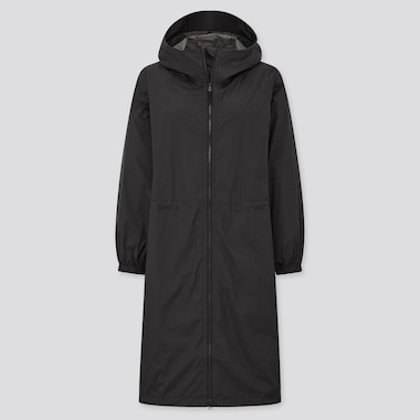 Women Light Blocktech Hooded Coat