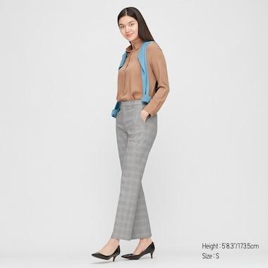 Pantalón Smart Tobillero Cuadros (Largos) Mujer