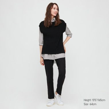 Pantalon Smart HEATTECH Coupe Slim Femme